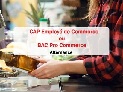 Alternance / CAP Employé de Commerce ou Bac Pro Commerce 🛒(offre pourvue)