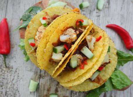 BBQ Cauliflower Tacos