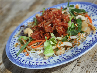 BBQ Jackfruit Salad Recipe