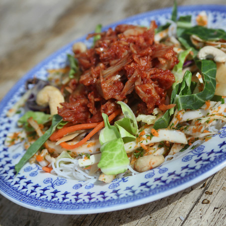 BBQ Jackfruit Salad Recipe