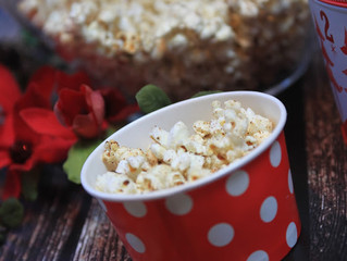 Christmas Spiced Popcorn