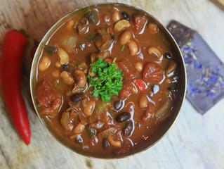 Three Bean Chocolate Chilli