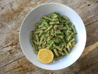 Pesto Brown Rice Pasta Recipe