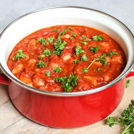 Tuscan Bean Pot