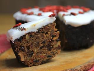 Gluten & Dairy Free Christmas Cake
