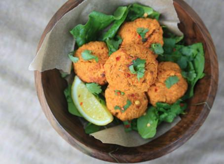 Sweet Potato Falafel