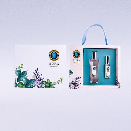 AURA薄荷精油禮盒(10ml+50ml)