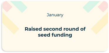 raised second round of seed funding