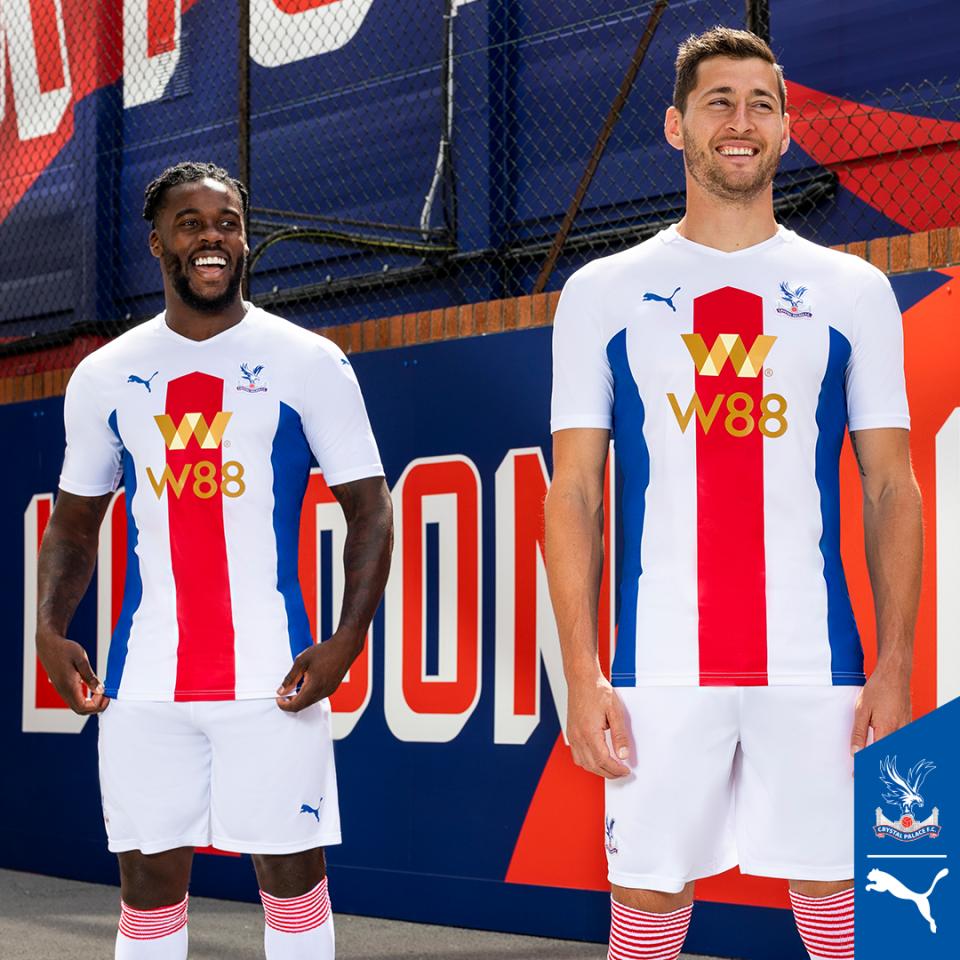 Crystal Palace Away Kit 2020/2021 Premier League Season