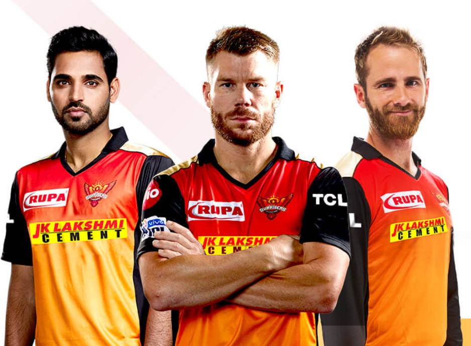 Sunrisers Hyderabad IPL Kit 2020
