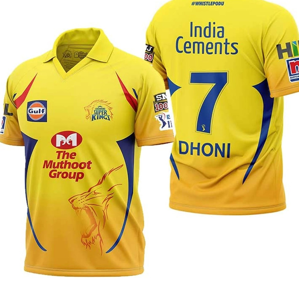 Chennai Super Kings IPL kit 2020