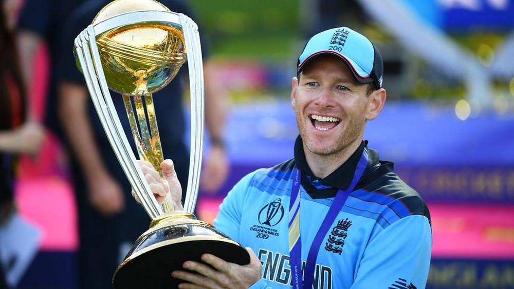 Eoin Morgan England Cricket captain