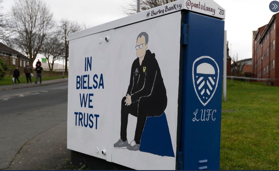 In Bielsa we trust painting