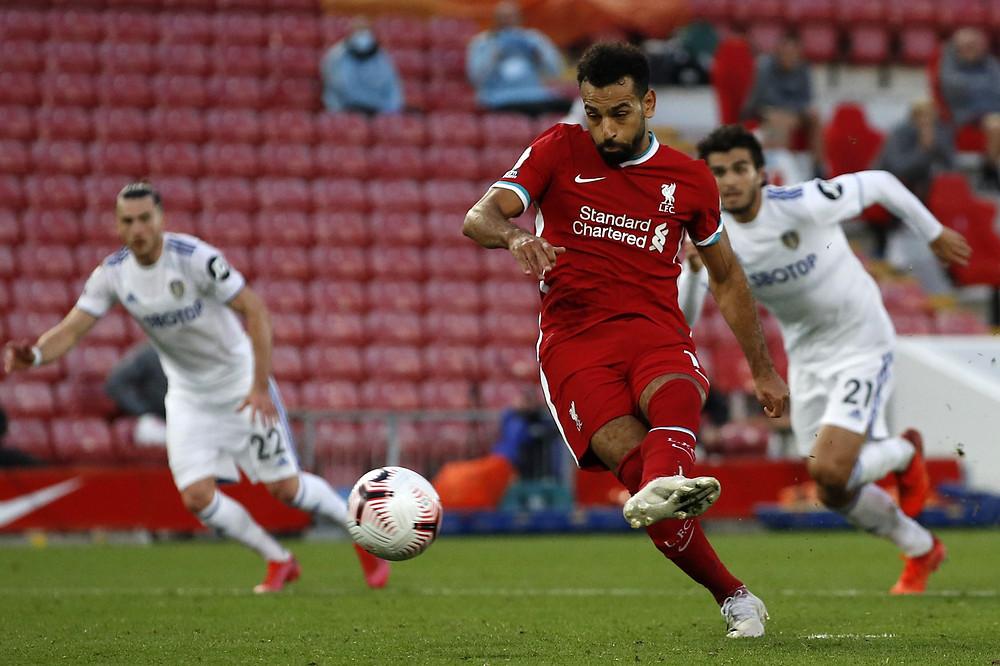 Mo Salah Liverpool footballer