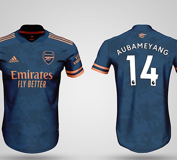 Arsenal Third kit Premier League 2020/2021