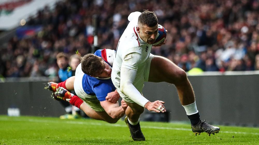 Jonny May England Rugby