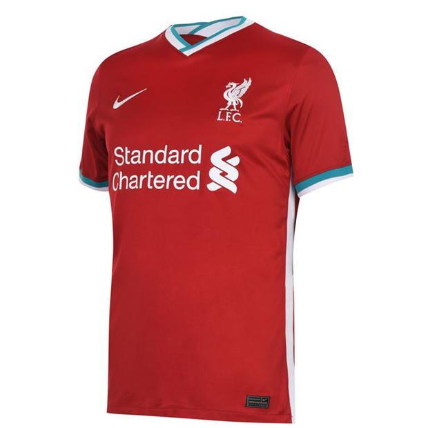 Liverpool Home kit 2020/2021 Premier League season
