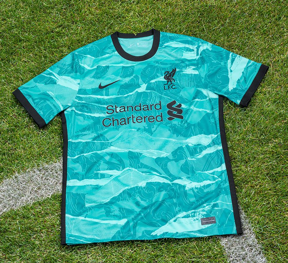Liverpool away kit Premier League 2020/2021