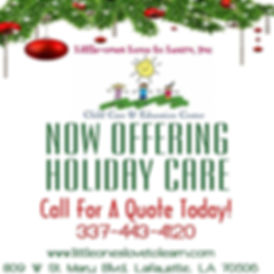 Hoilday Child Care
