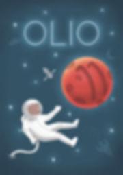 Keri Green's Illustration Portfolio, Olio, Illustration, Astronaut, Space