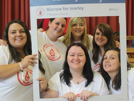 We are happy to support Marrow for Marley! We have provided banners, stickers, frames and posters to