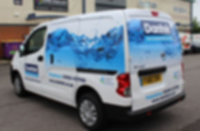 vehicle graphics, Avon Displays, Design,