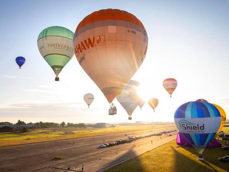 The Bristol Balloon Fiesta!