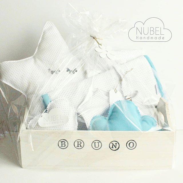 Cestas bonitas para dar la bienvenida al mundo al bebé. Sorprende a los papás con un regalo Handmade