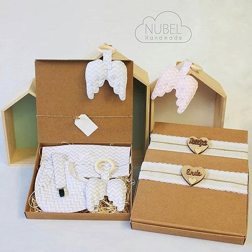 regalo bebé, pack bebé, welcome baby, alas bebé