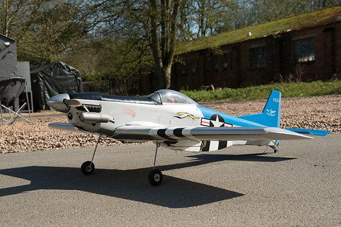 """P51 Mustang Model Aeroplane """"Sharpshooter"""""""