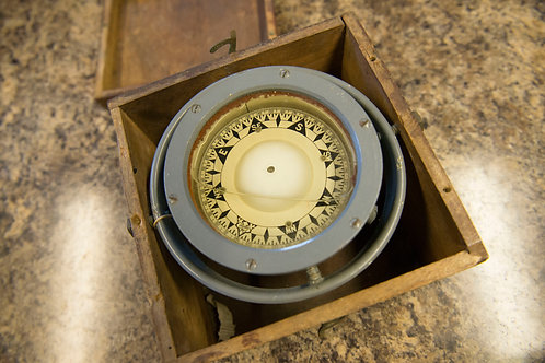 Naval Boxed Compass
