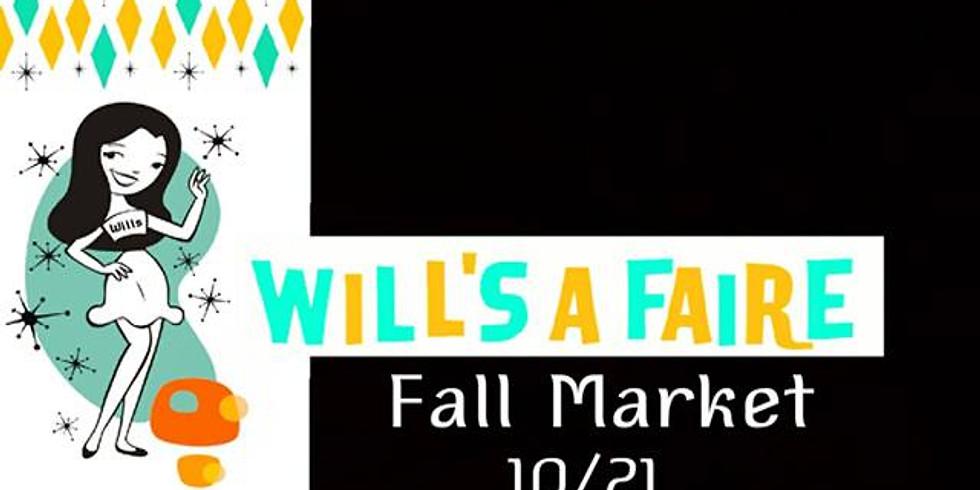 Will's A Faire Fall Market at Will's Pub