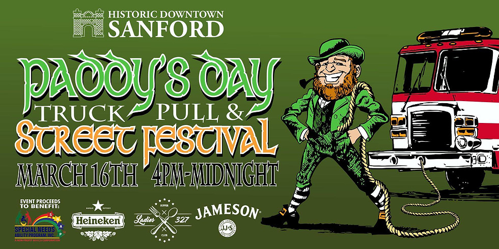 2nd annual St Paddy's Day Truck Pull & Street Festival