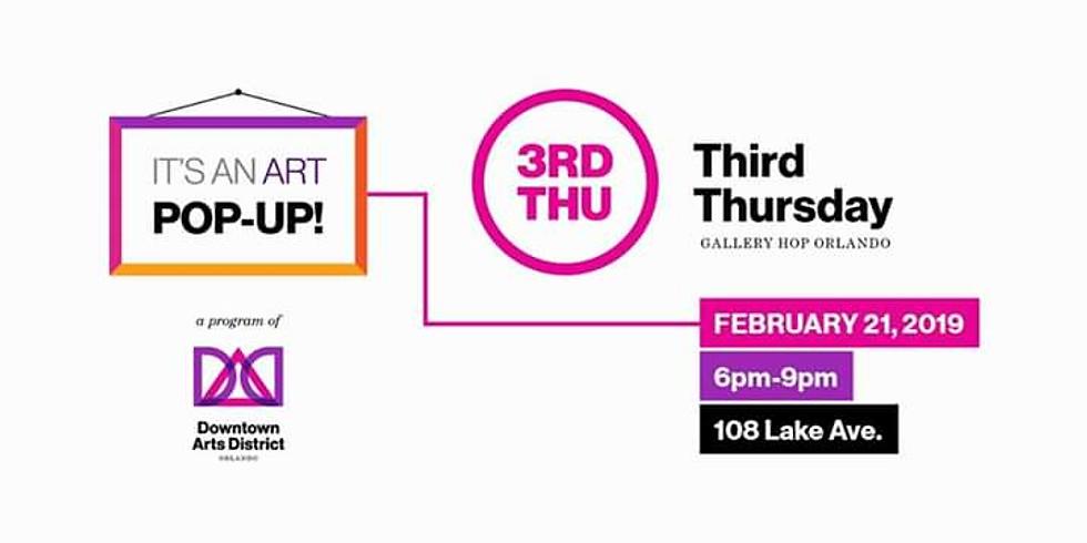 3rd Thursday Art Pop Up