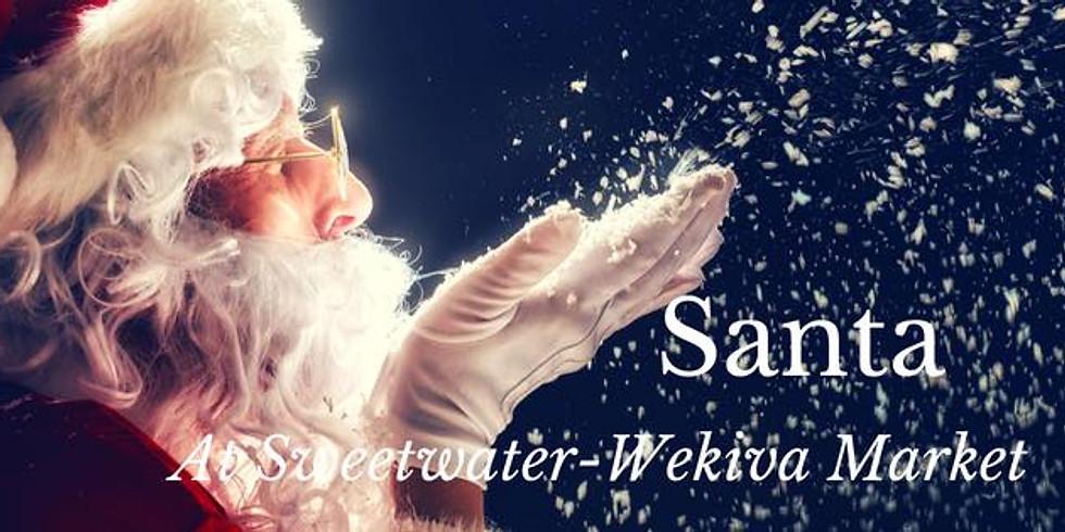 Holiday Market with Santa