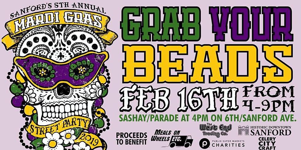Sanford Mardi Gras Street Party