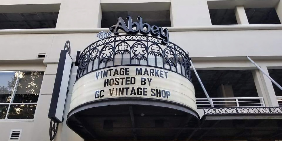 Vintage Market at The Abbey