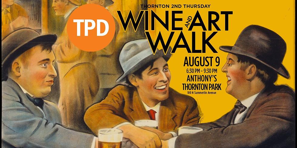 Thornton 2nd Thursday Wine & Art Walk