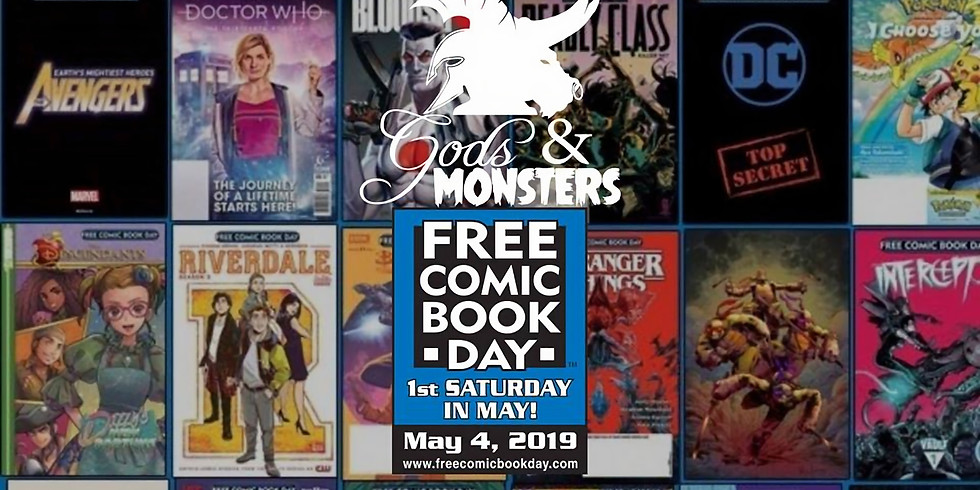 Free Comic Book Day & Star Wars Party at Gods & Monsters