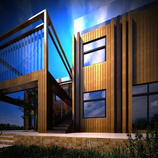 Частный загородный дом