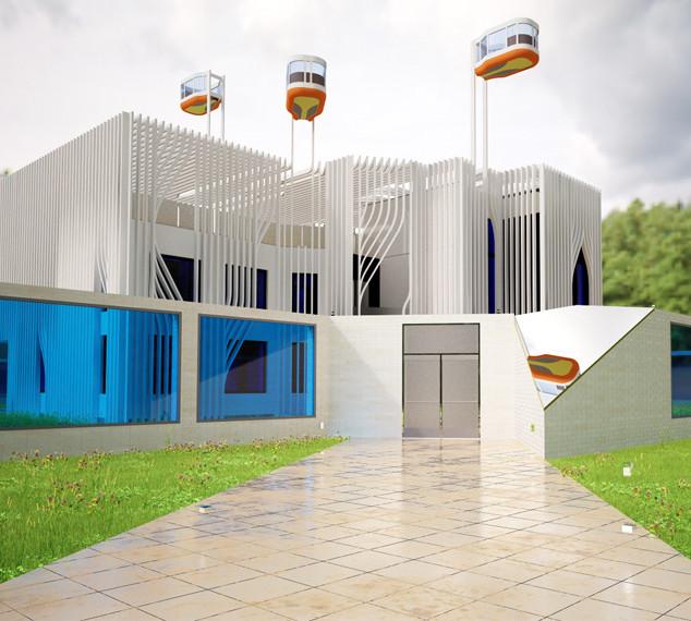Проект частного дома Radiator