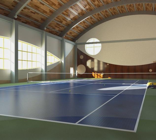 Зал тениса