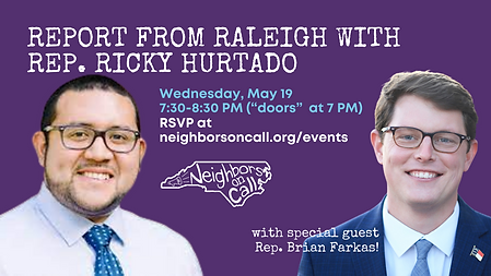 2021-05-19-Report from Raleigh - Ricky H