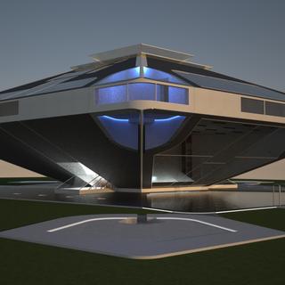 Проект частного дома TP 53