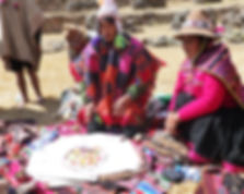 Qeros despacho ceremony Peru