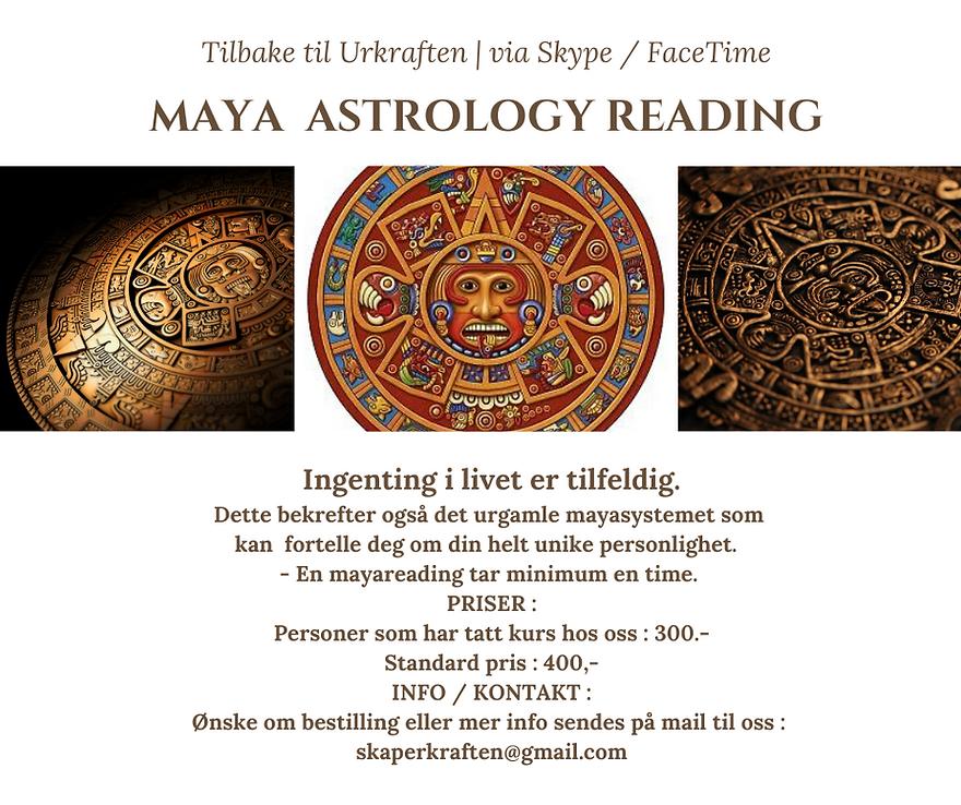 Maya Reading i Norge