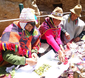 Qeros despacho ceremony