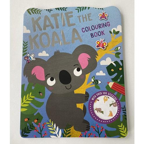 Koala colouring book