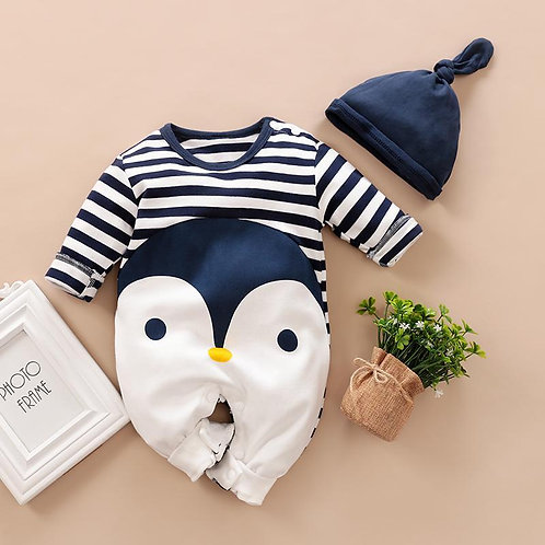 Penguin babygrow