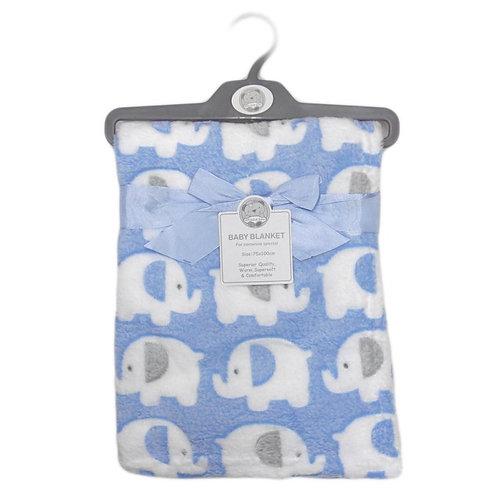 Baby Sky Elephant Blanket